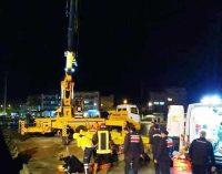 Limanda iş cinayeti: Makinist beton blokların altında kaldı