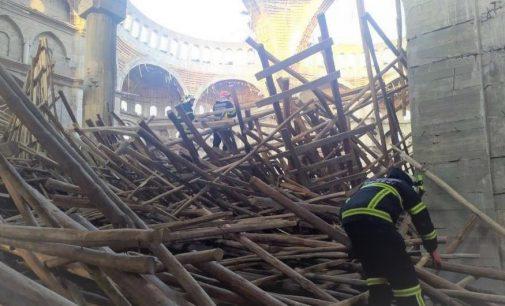 Camide iş cinayeti: Enkaz altında kalan mühendisten acı haber