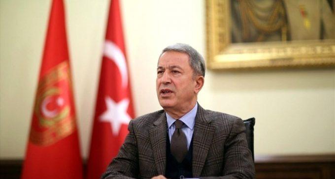 Milli Savunma Bakanı Akar: Türkiye ve ABD arasında görüş ayrılıkları olsa da iki ülkenin uzun bir işbirliği geleneği var