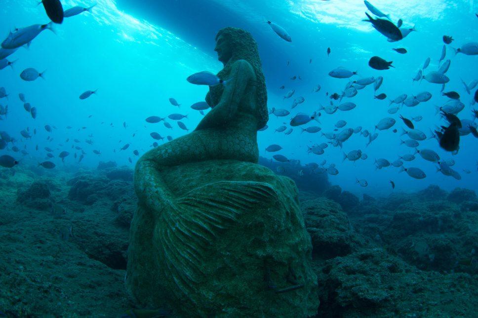 Türkiye'nin ilk su altı müzesinden fotoğraflar