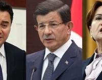 Meral Akşener ve Ali Babacan'dan Davutoğlu'na telefon