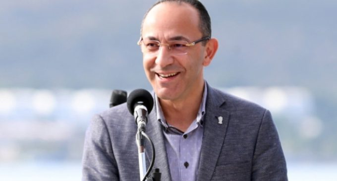 Urla'nın görevden alınan CHP'li belediye başkanı Burak Oğuz'un ilk duruşması yapıldı