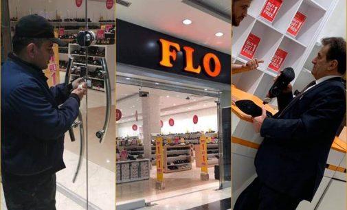 Ünlü ayakkabı mağazasının Erbil'deki şubesi dini değerlere hakaret gerekçesiyle kapatıldı