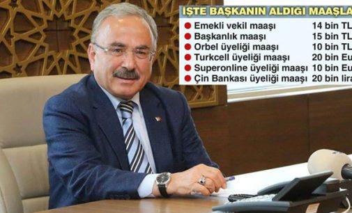 Koltukları bırakmıyor: Altı yerden maaş alan AKP'li başkan!