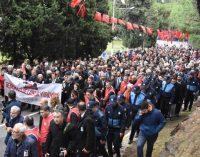 Şehit Asteğmen Kubilay, 'Demokrasi ve Laiklik' yürüyüşü ile anıldı