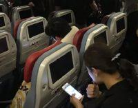 Uçakta cep telefonunu kapatmamanın cezası belli oldu