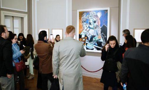 Picasso sergisine 100 günde 156 bin sanatsever ziyareti