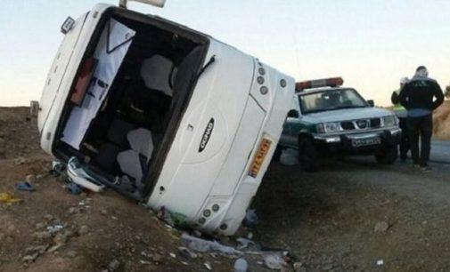 İran'da otobüs kazası: 20 kişi yaşamını yitirdi