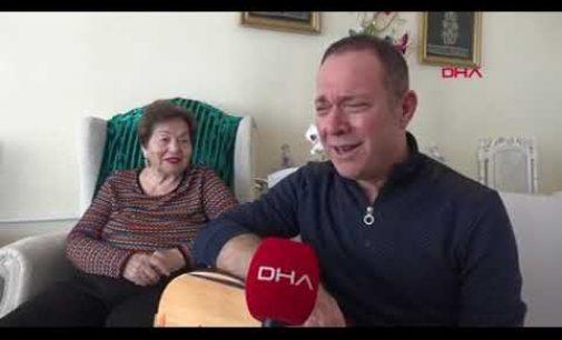 Sümer Ezgü, 86 yaşındaki ustası Yıldız Ayhan'la düet yaptı