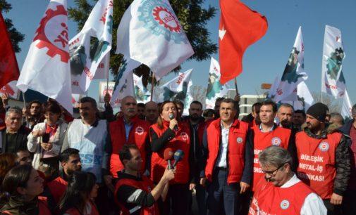 Arzu Çerkezoğlu'ndan İzmir'deki işçi kıyımına tepki: Gerekirse Türkiye'yi buraya yığarız