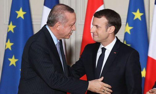 Fransa Cumhurbaşkanı Macron'dan Türkçe tweet: Türkiye'ye net bir mesaj gönderdik
