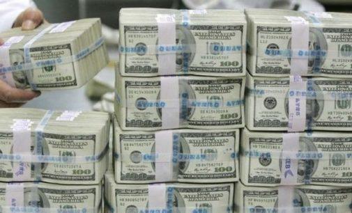 Kısa vadeli dış borç stoku Ocak'ta 123,6 milyar dolar oldu