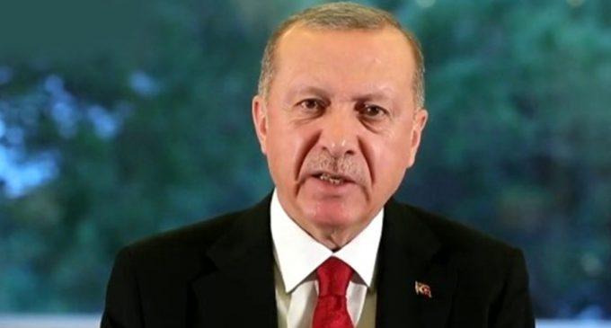 Erdoğan: Virüs bulaşmasını önlemenin tek yolu gönüllü karantina