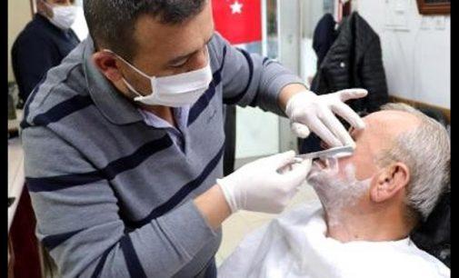 Evlere tıraşa giden berbere 3 bin 150 lira ceza