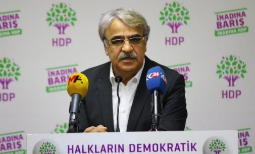 HDP Eş Genel Başkanı Sancar: Eşitlik ilkesi gözetilmeli, düzenleme tüm mahkumları kapsamalı