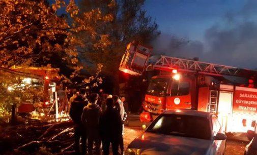 Evde çıkan yangında mahsur kalan çocuk kurtarılamadı