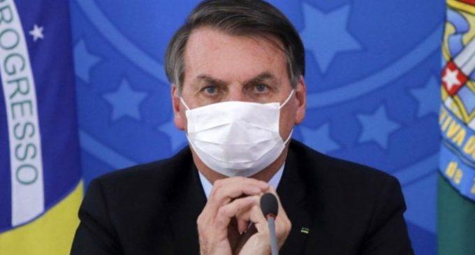 Koronavirüsü hafife alan Brezilya Devlet Başkanı Bolsonaro'nun testi yine pozitif çıktı