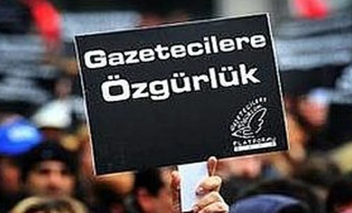 Utanç tablosu: Türkiye basın özgürlüğü endeksinde 154'üncü sırada