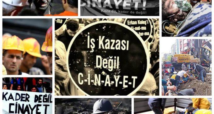İş cinayetleri raporu: AKP iktidarında 18 yılda 23 bin 980 işçi yaşamını yitirdi