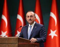 Çavuşoğlu: Macron Erdoğan'a mektup gönderdi