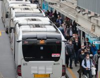 Mayıs ayında toplu taşımada yolculuk oranı yüzde 67.8 arttı