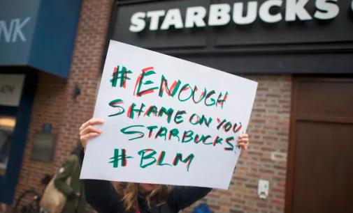 Starbucks'a boykot çağrısı: 'Siyahların Yaşamı Değerlidir' yazılı kıyafetleri yasakladılar…