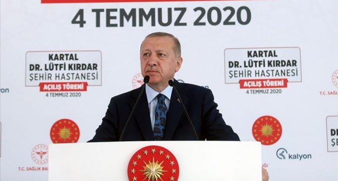 Erdoğan: Sembolik de olsa bayan vekillerimizden hiç olmazsa iki tane alalım