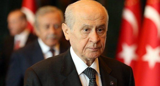 """Bahçeli'den """"HDP'nin kapatılmasına"""" dair açıklama"""