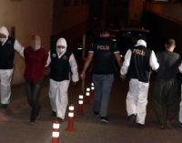 IŞİD ve Heyet Tahrir El Şam operasyonu: Dokuz kişi gözaltına alındı