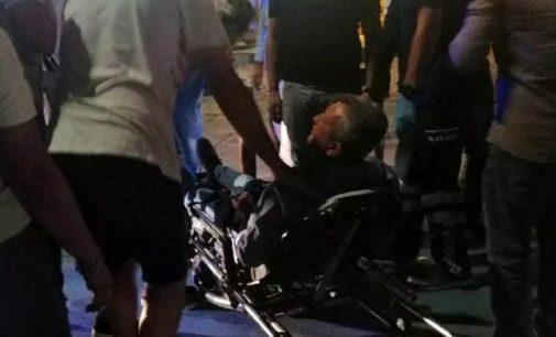 Foça'da silahlı saldırı: Eski belediye başkanı ayağından vuruldu