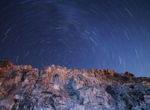 Yurttan Perseid meteor yağmuru manzaraları