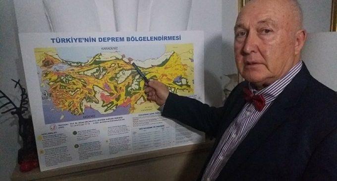 Prof. Ercan 'Çok büyük deprem olacak' dedi ve açıkladı: Marmara, 2,5 metre Yunanistan'a kayacak