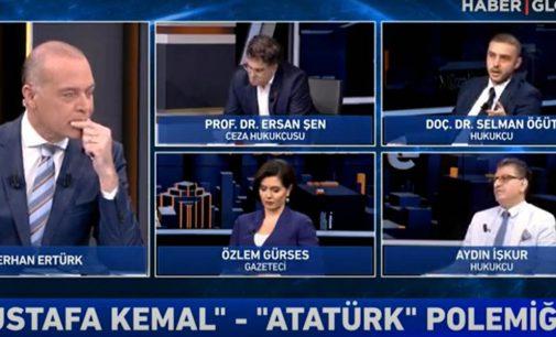 """AKP'li Selman Öğüt yayını terk etti: """"Hilafetin kaldırılması doğru bir karar değildi"""""""