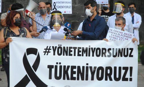 Diyarbakır'da dört günde 62 sağlık çalışanı koronavirüse yakalandı