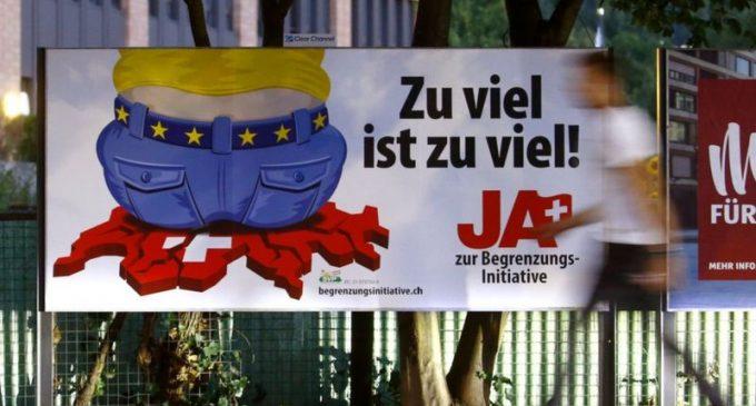 İsviçre'de referandum sonucu: AB ile serbest dolaşımı sonlandırma teklifi reddedildi