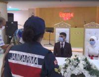 Koronavirüs denetimi: Jandarma eşliğinde düğün