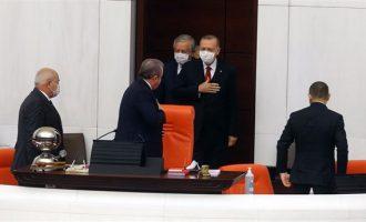 Erdoğan meclis açılışında konuştu: Sistemin ideal seviyeye gelmesi vakit alacaktır…
