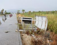 Fırtına nedeniyle otobüs durağı üzerine devrilen Gülseren Çiçek yaşamını yitirdi