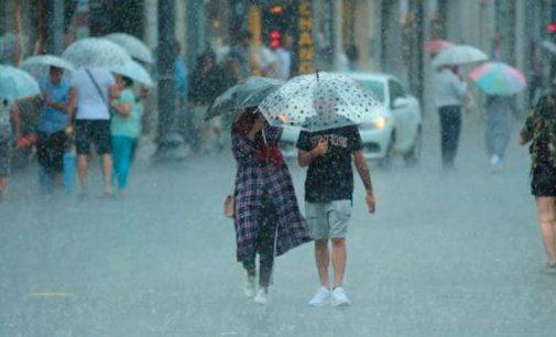 Meteoroloji uyardı: Bir çok ilde gök gürültülü sağanak yağış yaşanacak
