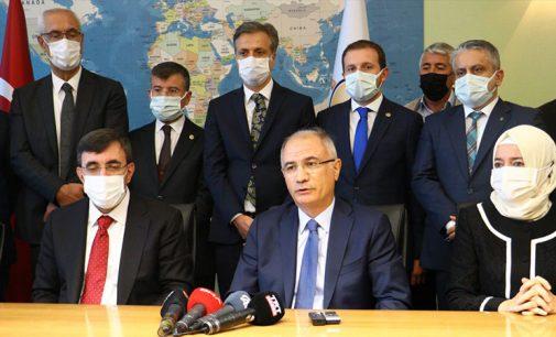 AKP'de devir teslim: Sayın Cumhurbaşkanımıza şükranlarımı arz ediyorum