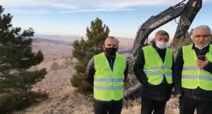 Talan sırası Kapadokya'ya geldi: Kanadalı şirket, ağaçları keserek altın arıyor!