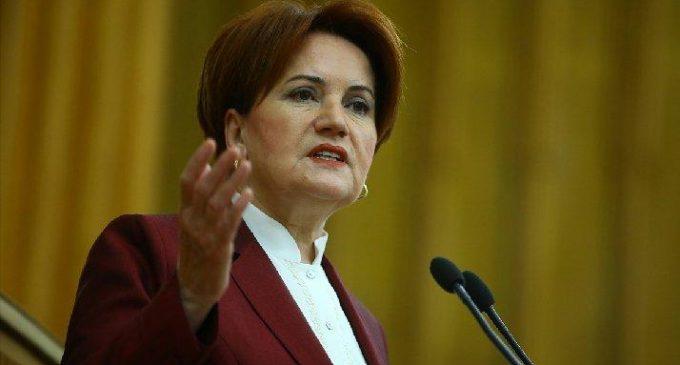 Meral Akşener: Kanal İstanbul'da müteahhitler kazanıyor