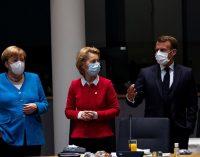 Fransa Cumhurbaşkanlığı: Macron 'büyük ihtimalle' Avrupa Konseyi sırasında koronavirüs kaptı