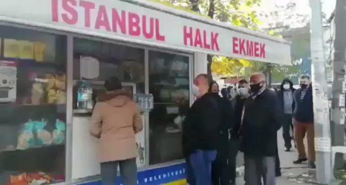 """İmamoğlu'ndan """"Halk Ekmek"""" büfeleri önündeki kuyruklarla ilgili açıklama"""