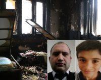 Sokağa çıkma yasağında yangın faciası: Baba ile iki çocuğu yaşamlarını yitirdi