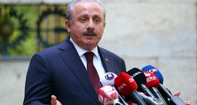 """TBMM Başkanı Şentop'tan """"parlamenter sistem"""" açıklaması"""