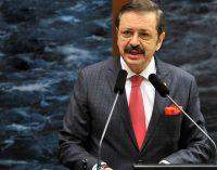 """TOBB Başkanı Hisarcıklıoğlu'ndan """"kısa çalışma ödeneği"""" çağrısı"""