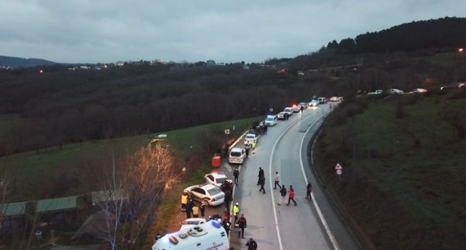 """İstanbul'da """"helikopter düştü"""" ihbarı yapılmıştı: İstanbul Valiliği'nden açıklama"""