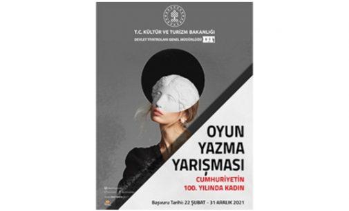 Devlet Tiyatroları'ndan 'Cumhuriyet'in 100'üncü Yılında Kadın' adlı oyun yazma yarışması