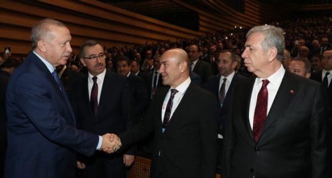 Erdoğan ve Tunç Soyer görüşmesi: İzmir'in iki önemli projesi konuşuldu